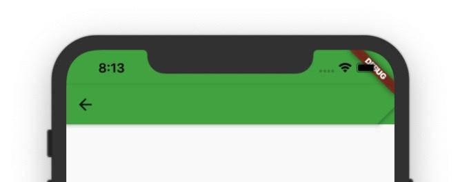 ShortAppBar 延伸到 Status Bar 下方